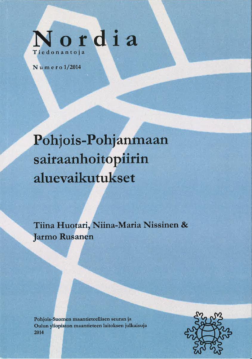 Näytä Nro 1 (2014): Pohjois-Pohjanmaan sairaanhoitopiirin aluevaikutukset